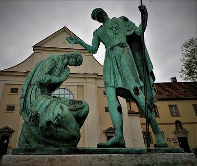Saint Martin, Customs, Hungary, Baptism, Szombathely