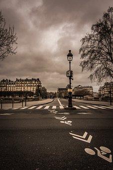 Paris, France, Outdoors, Tourism, Light, City, Bridge