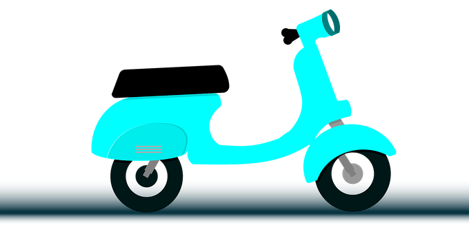 Scooter, Vehicle, Two Wheeler, Motorcycle, Classic, Old