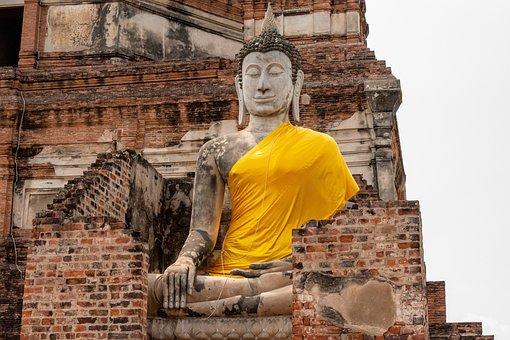 Buddha, Temple, Rocks, Buddhism, Rock, Travel