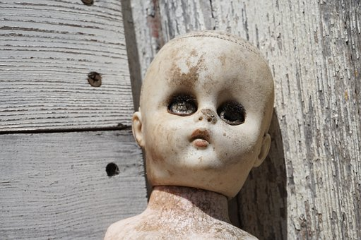Vintage Doll, Doll, Baby Doll, Old