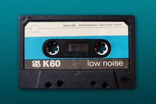 Cassette, Retro, Tape, Ddr, Ostalgie, Formerly