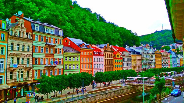 Carlsbad, Karlovy Vary, Europe, Tourism, Historically