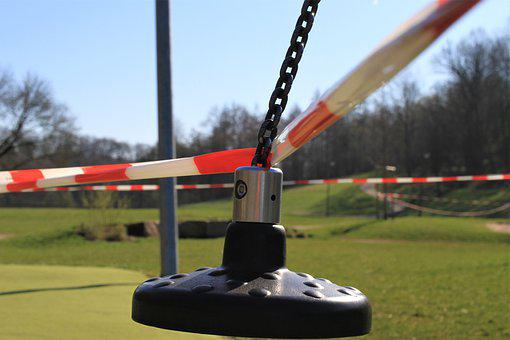 Barrier, Barrier Tape, Playground, Game Devices, Curfew