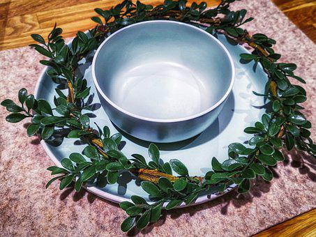 Cover, Table, Decoration, Bowl, Plate, Tableware, Eat