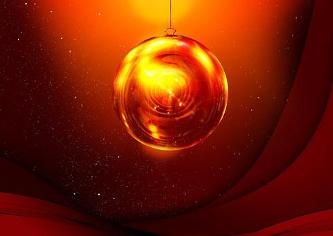 Gloss, Ball, Advent, Christmas Eve, Light, Christmas