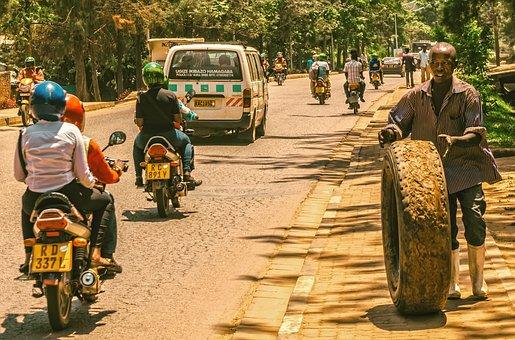Kigali, Rwanda, Africa, Travel, Tourism, City, Road