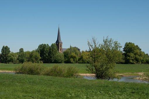 Lippborg, Village Church, Church, Catholic, St