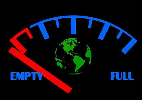 Ad, Earth, Resources, Petrol, Tank, Fuel Gauge, Full