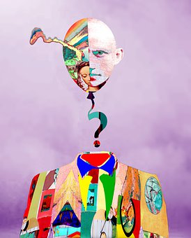 Portrait, Idea, Thinking, Conceptual, Question