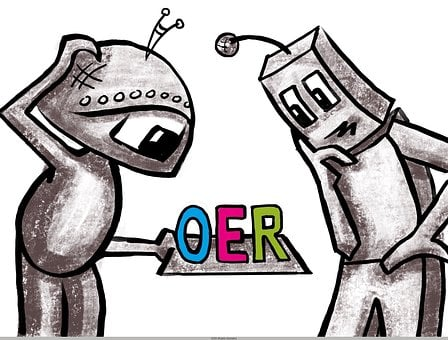 Robot, Oer, Open Educational Resources