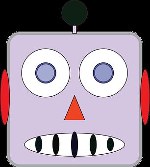 Robot, Android, Sci-fi, Robot Face, Robot Emoji, Emoji