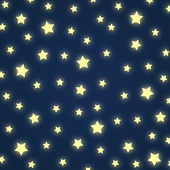 Stars, Night, Sky, Element, Web, Site, Page, Webpage