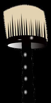 Barber, Brush, Round, Black, Grooming, Hair, Clean