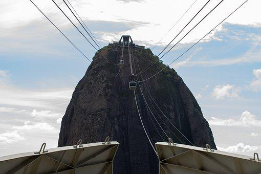 Sugar Loaf, Cable Car, Departure, Cable, Brazilwood