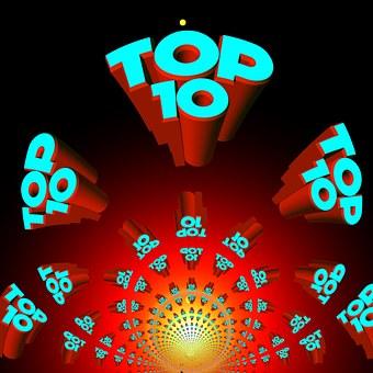 Top, Top Ten, Best, Hit Parade, Charts