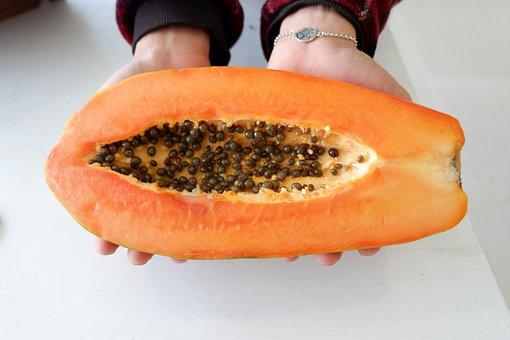 Papaya, Food, Fruit, Healthy, Thailand, Delicious, Eat