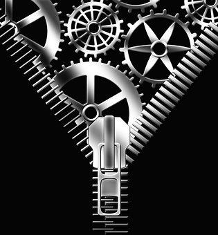 Gear, Think, Brain, Thoughts, Spirit