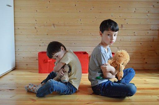 Offense, Quarrel, Kids, Baby, Childhood, Family