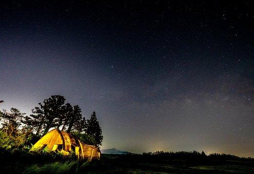Jeju, Jejudo, Landscape, Täsch Phone, The Milky Way
