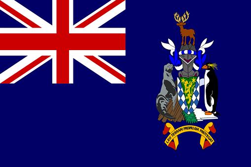 South Georgia, South Sandwich Islands, Flag