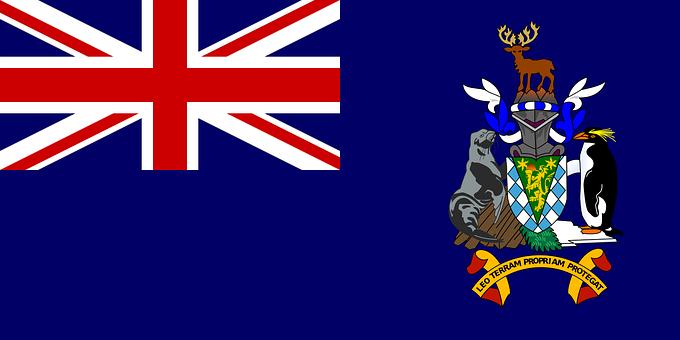 South Georgia, Flag, And, Sandwich, Islands