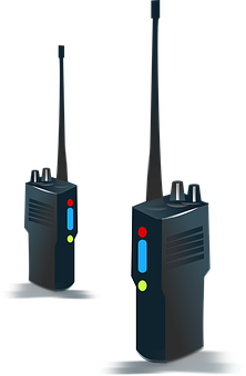 Handheld, Radio, Transmission, Portable, Equipment