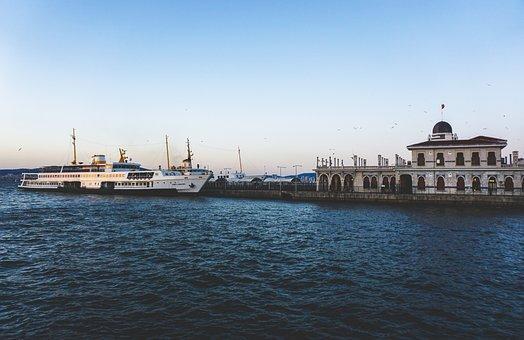 Istanbul, Turkey, Büyükada, Princess Island, Marine