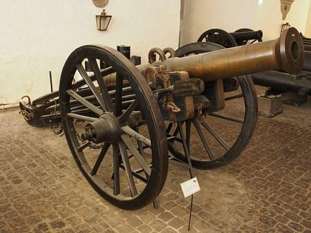 Pounder, Bronze, Cannon, Royal, Danish, Arsenal