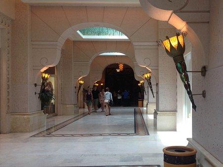 Hotel, Lobby, Dubai, U A E, Atlantis Hotel