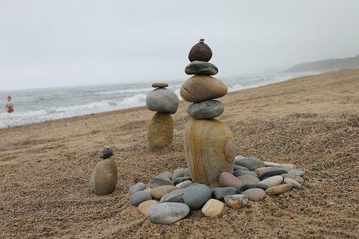 Balance, Cairns, Stone Sculpture, Stack, Rock, Pebble