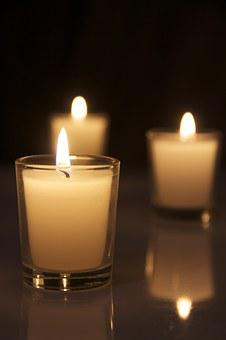 Candles, Flame, Candlelight, Burning, Fire, Wax, Bright