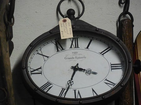 Clock, Time, Hour, Minute, Dial, White, Black, Business