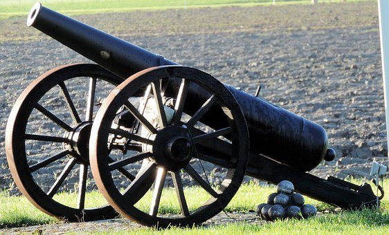 Cannon, Cannonballs, History, War, Cannonball, Weapon