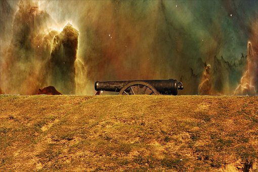 Canon, Vicksburg, Battle Ground, War, Mississippi