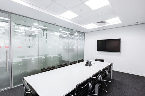 Meeting Room, Table, Screen, Conference, Business