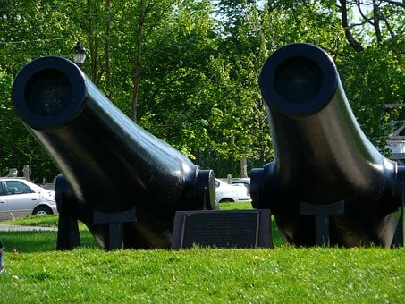 Canons, Decommissioned, Exhibits, Cannon, Gun