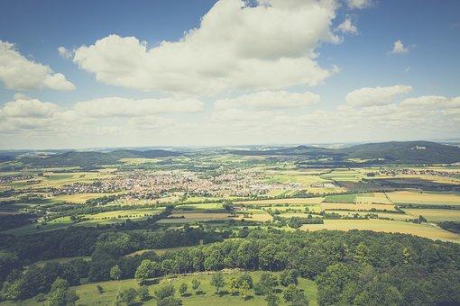 View, Landscape, Nature, Franconian Switzerland