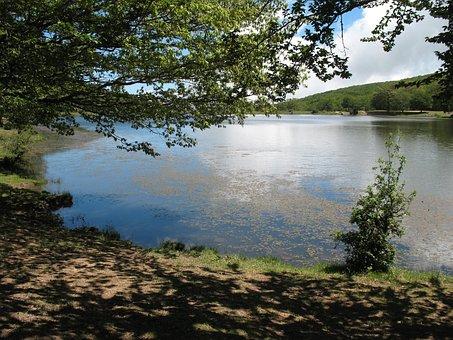 Nature, Park, Lake, Sky, Green, Landscape, Mountain