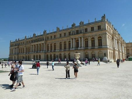 Versailles, Building, Sun King, Castle, Hall Of Mirrors