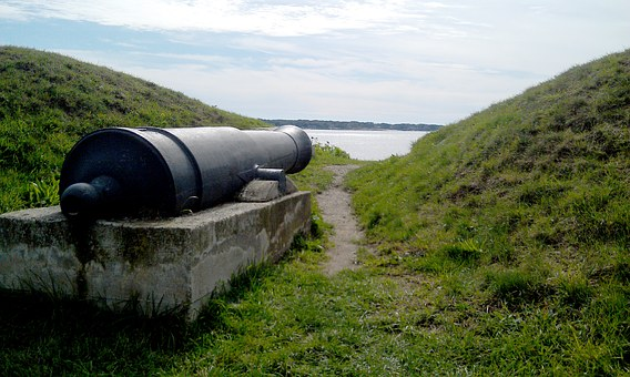 Cannon, Historical, New England, Historic, History, Old