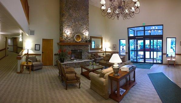 Lobby, Reception, Hall, Hotel, Livingroom, Living Room
