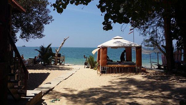 Thai Massage, Island, Sun, Sea, Beach, Thailand