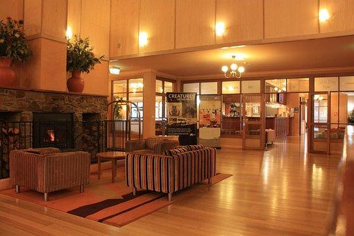 Hotel, Foyer, Lobby, Design, Interior