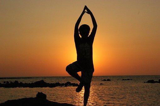 Yoga, Person, Balancing, Meditation, Meditating