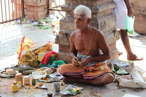 Indians, Man, Holy, Hinduism, Tradition, Meditation