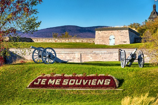 Canon, Memory, Military, Citadel, Québec, Ramparts