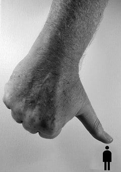 Hand, Thumb, Mench, Silhouette, Pressure, Burnout