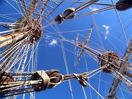 Motor Sailers, Ship, Strings
