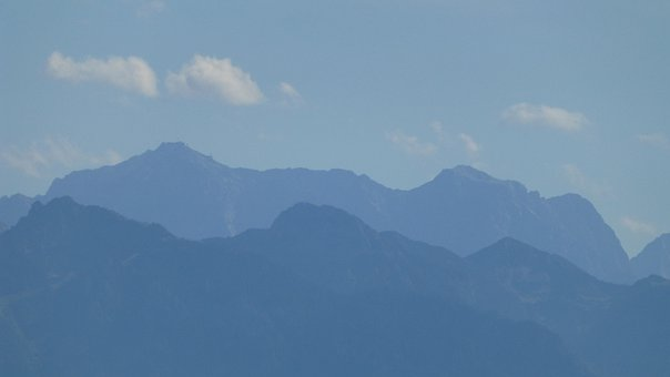 Allgäu, Mountains, Train Pointed View, Panorama